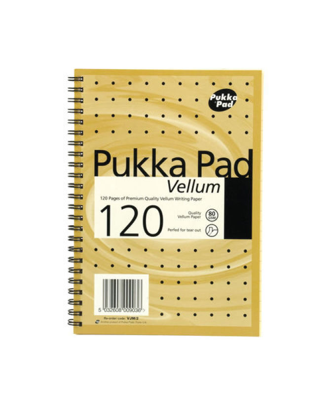 Pukka Pads A5 Vellum Pad - 3 Pack