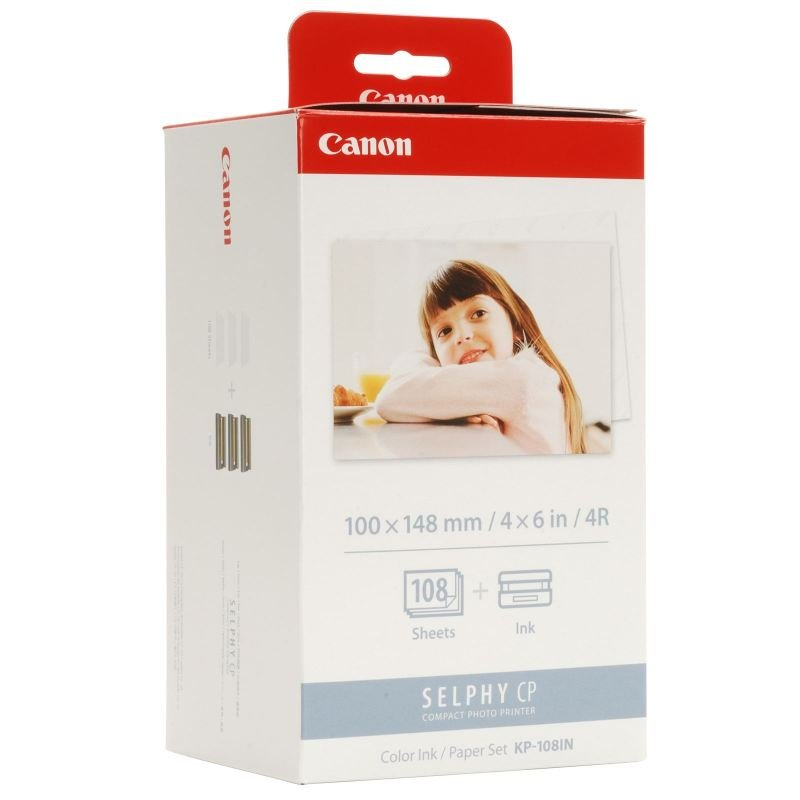 Canon KP-108IN Colour Ink Paper Set