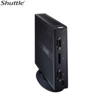 Shuttle Xs36vl Barebone Pc Intel Atom Dual Core (d2550) 1.86ghz Intel Nm10 Express Chipset Intel Gma3650 Graphics No Operating System (black)