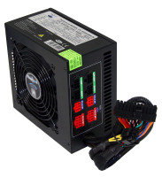 PowerCool 550W Semi Modular 80+ Power Supply