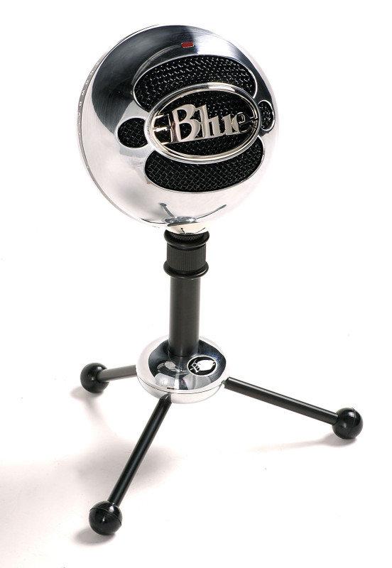Image of Blue Microphone Snowball Microphone-Aluminium