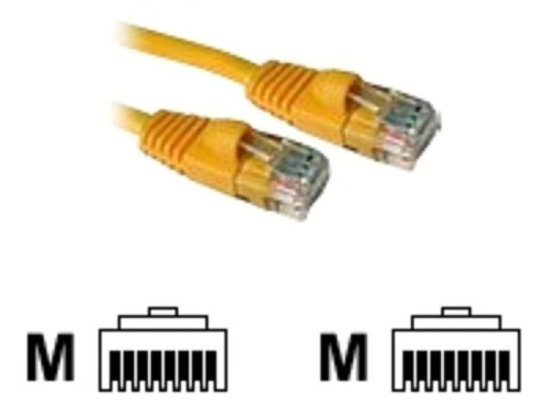 C2G, Cat5E 350MHz Snagless Patch Cable Yellow, 5m