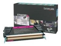 Lexmark C736H1MG HC Magenta Toner Cartridge