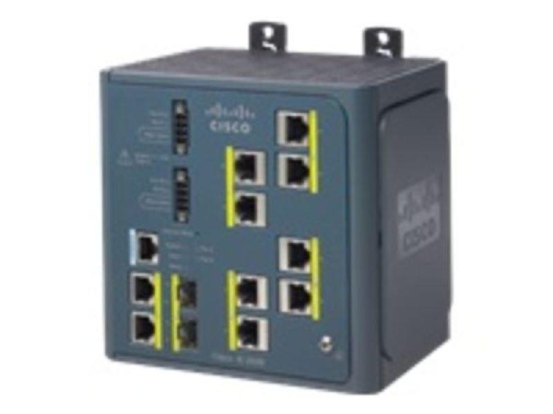 Cisco IE 3000 Switch 8 10/100 + 2 T/SFP