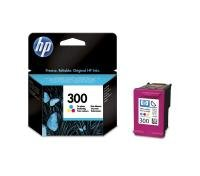 HP 300 Tri-Colour Original Ink Cartridge - Standard Yield 165 Pages - CC643EE