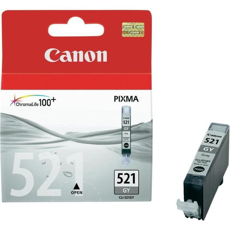 Canon CLI-521GY Grey Ink Cartridge