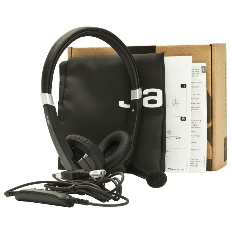 Jabra UC Voice 550 Duo Headset
