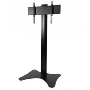 "Floor Stand For Displays 32"" - 65"" - Black"