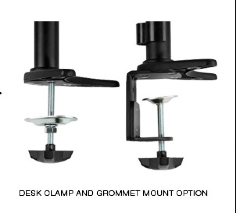 LCD Dual Arm 2-link Screen Mount