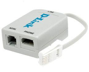 D-Link UK ADSL Microfilter for BT socket