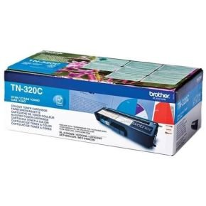 Brother TN-320C Cyan Toner Cartridge - 1,500 Pages