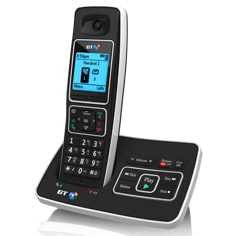 Image of BT 6500 Cordless Telephone with Answering Machine - Single Pack