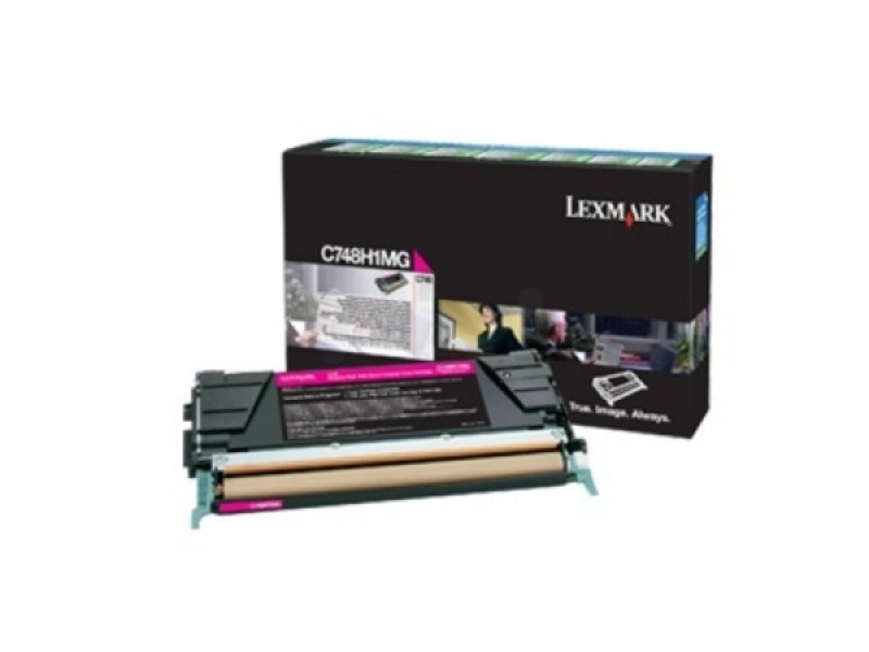 Lexmark C748 Magenta High Yield Toner Cartridge