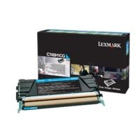 Lexmark C748 Cyan High Yield Toner Cartridge