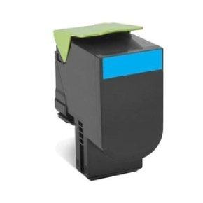 Lexmark 802HCE Cyan High Yield Toner Cartridge