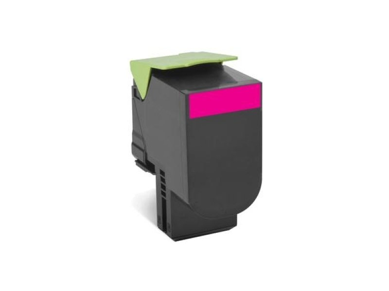 Lexmark 802HME Magenta High Yield Toner Cartridge