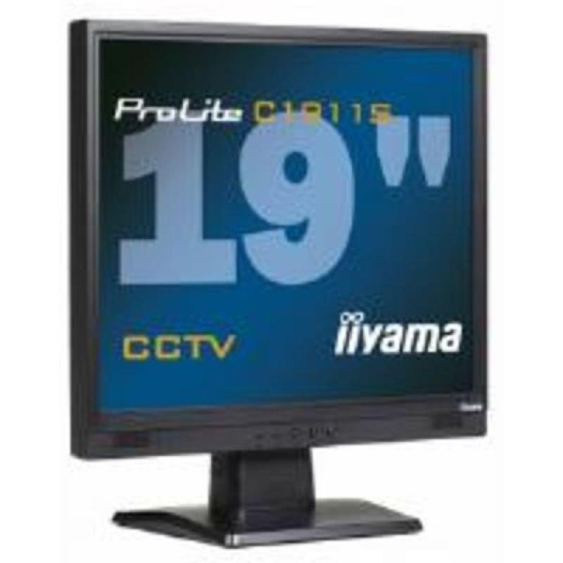 Iiyama C1911S 54 LCD TFT CCTV 19&quot Monitor
