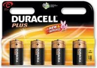 Duracell Mn1400 Plus Power Alkaline C Size Batteries (4 Pack)