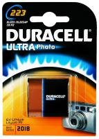 Duracell Ultra Dl223 Alkaline 6v Camera Battery