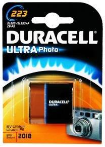Duracell Ultra Dl223 Alkaline 6v Camera Battery