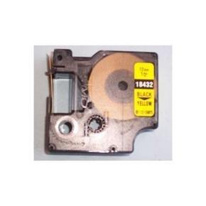 Dymo Black On Yellow Industrial Vinyl Tape 12mm For Rhinopro 5000