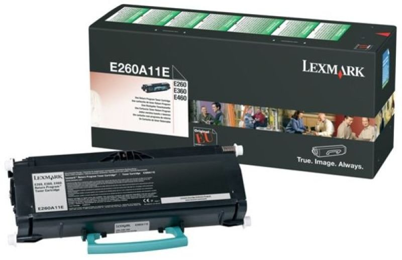 Lexmark - Toner cartridge - 1 x black - 3500 pages - LRP