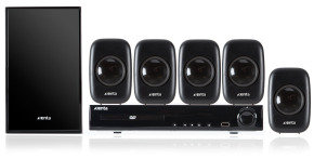 Xenta HE5/1TS 5.1 Channel DVD Home Theatre System
