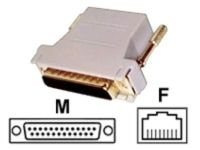 StarTech.com DB25 TO RJ45 MODULAR ADAPTER - M/F