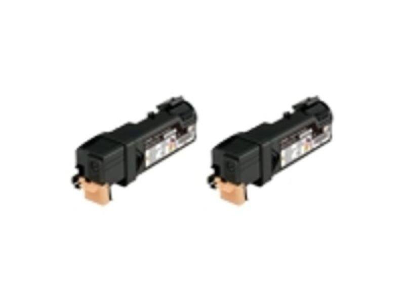 Epson S050631 Black Toner Cartridge Twin Pack (Pack of 2)