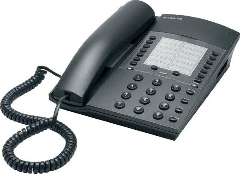 Image of ATL Berkshire 400 Corded Analogue Telephone - Dark Grey
