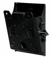 Peerless Smartmount Tilting Wall Mount In Black 36kg (80lbs) Vesa 75  100  200x100  For 10 - 26 Inch Lcd Screens