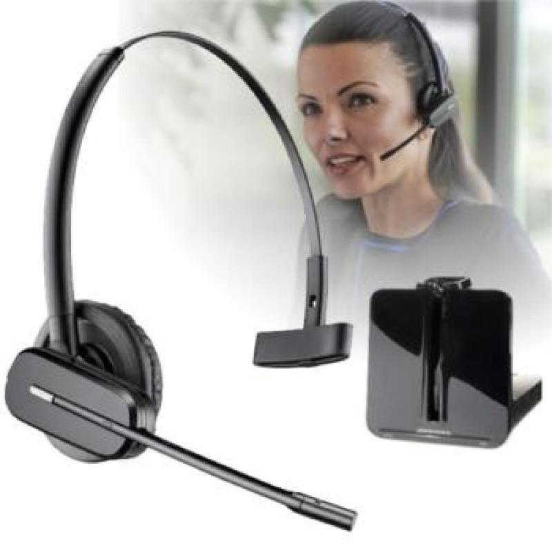 Plantronics 86507-12 Savi W745/A 3-In-1 Wireless DECT Monaural Headset