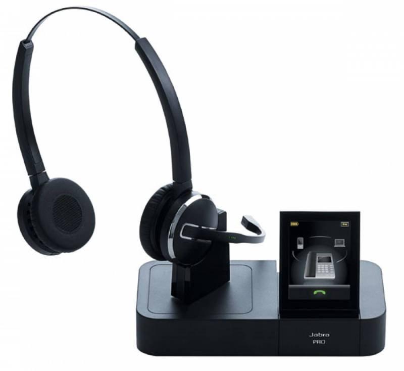 Image of Jabra Pro 9460 Duo Convertible Wireless Headset