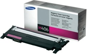Samsung CLT-M406S Magenta Toner Cartridge - 1,000 Pages