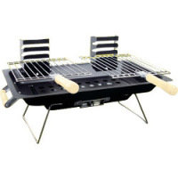 Redwood Leisure Steel Hibachi BBQ