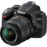 Nikon D3200 Digital SLR Camera with 18-55mm Vr Lens