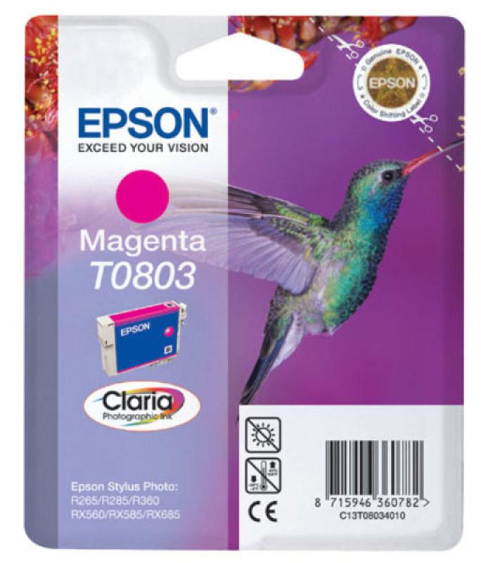 Epson T0803 Magenta Ink Cartridge