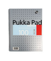 Pukka Pads Metallic Silver Editor Pad - 3 Pack