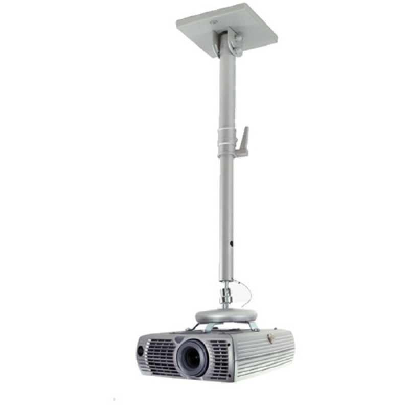 Image of Universal Projector Ceiling Mount With Long Adjustable Drop For Lcd/dlp