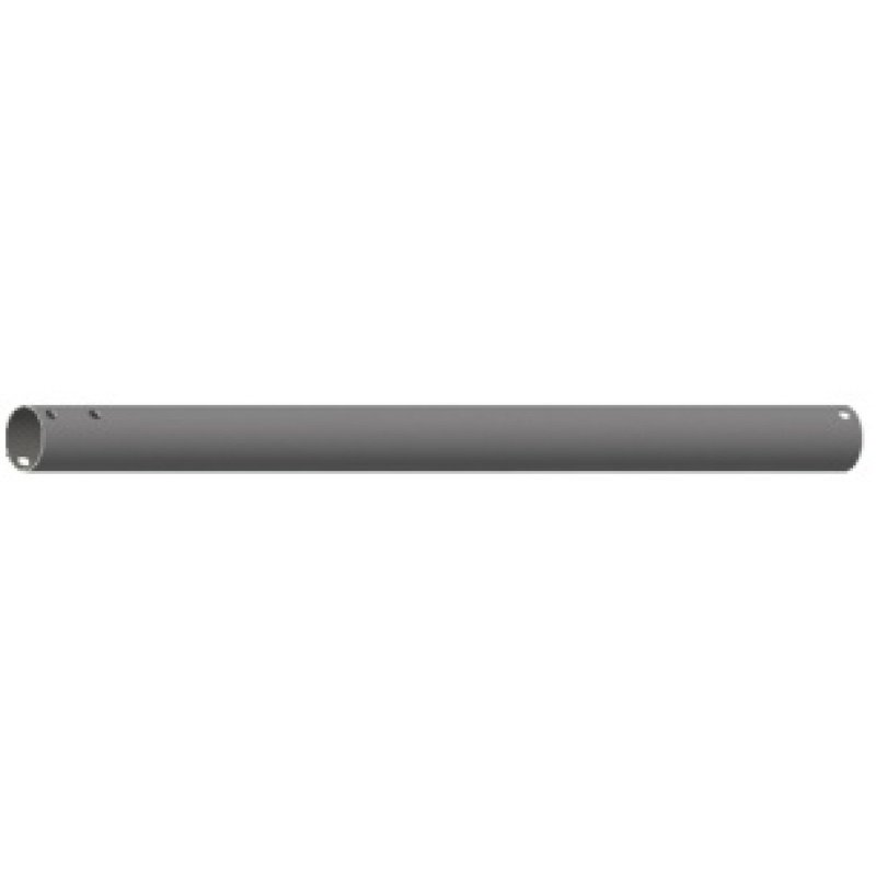 Image of 50mm Diameter Pole 1.0m Pole Length Max Weight 140kg - Black