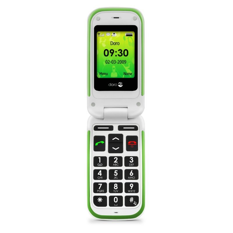 Image of Doro PhoneEasy 410GSM Easy GSM Sim Free Mobile Phone - Black