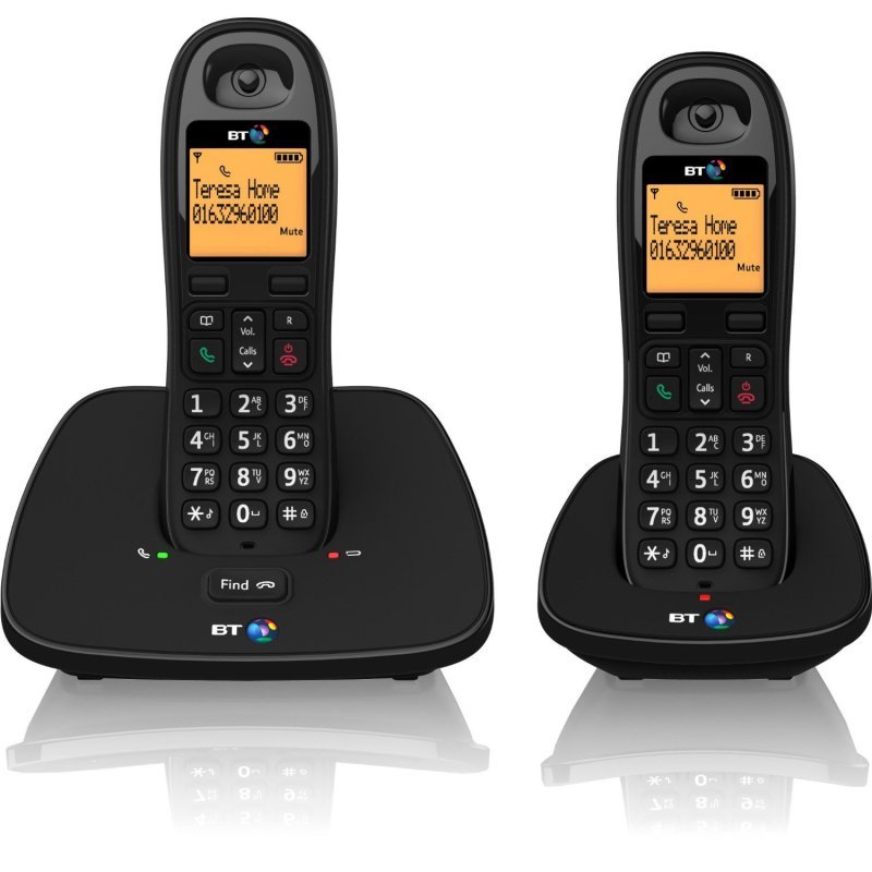 Image of BT 1000 Cordless DECT Phone - Twin Pack