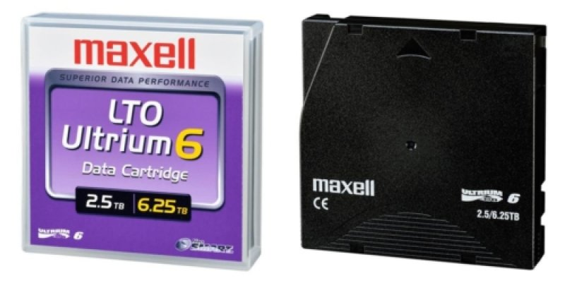 Image of Maxell 22955800 Ultrium LTO 6 2.5/6.25TB Back Up Tape