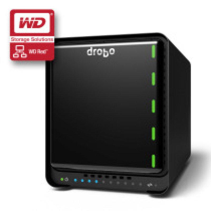Drobo 5N 4TB (2 x 2TB WD Red) 5 Bay Desktop NAS