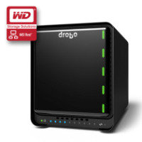 Drobo 5N 6TB (2 x 3TB WD Red) 5 Bay Desktop NAS