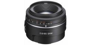 85F28 A-mount digital camera lens