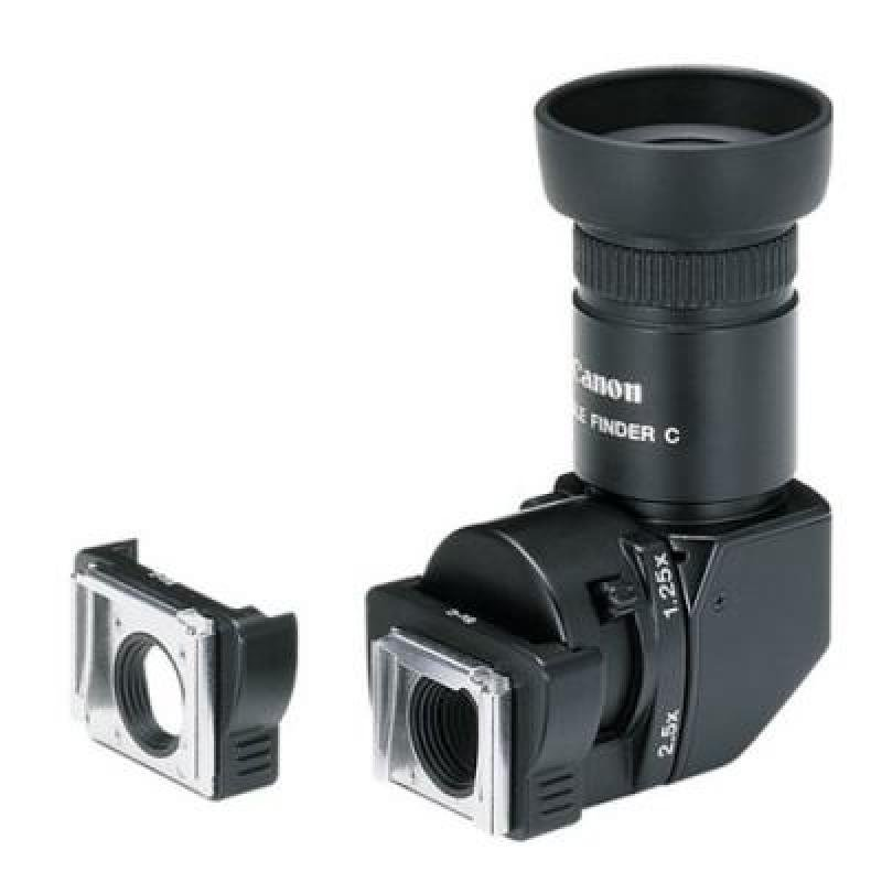 Canon ANGC Angle Finder C inc Adapters for EOS and EOS Eye Control Series