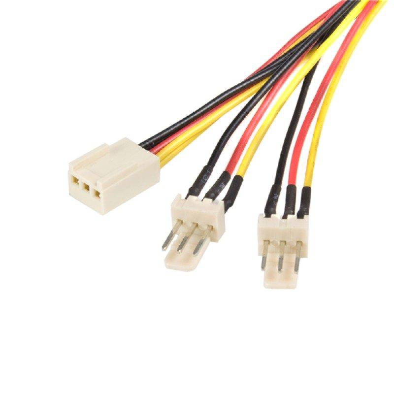 Startech TX3 Fan Power Splitter Cable 0.3m