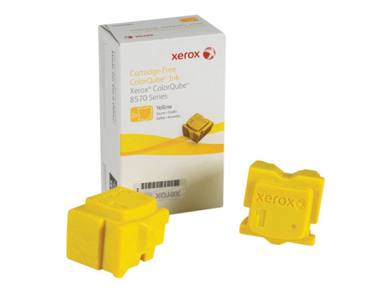 SOLID INK YELLOW (2 STICKS) - F/ 8570/8870