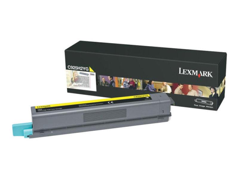 Lexmark C925H2YG  Yellow Toner cartridge